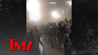 Lil Pump Fans Run From Gas Inside the Venue | TMZ