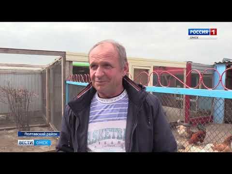 Птицевод любитель из Полтавского района