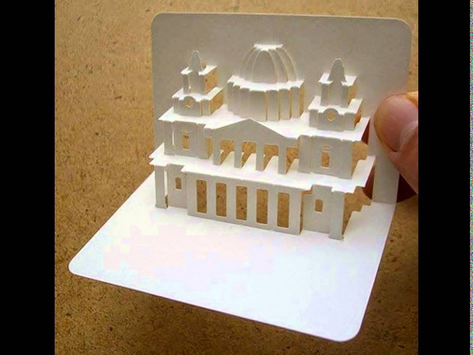 Creative 3D Business Cards For Architects - YouTube