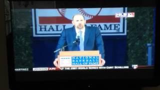 John Smoltz Hall of Fame Speech