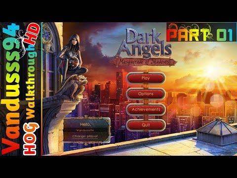 Dark Angels: Masquerade Of Shadows Walkthrough Part 1: Strange Hallucinations [PC FULL HD]  