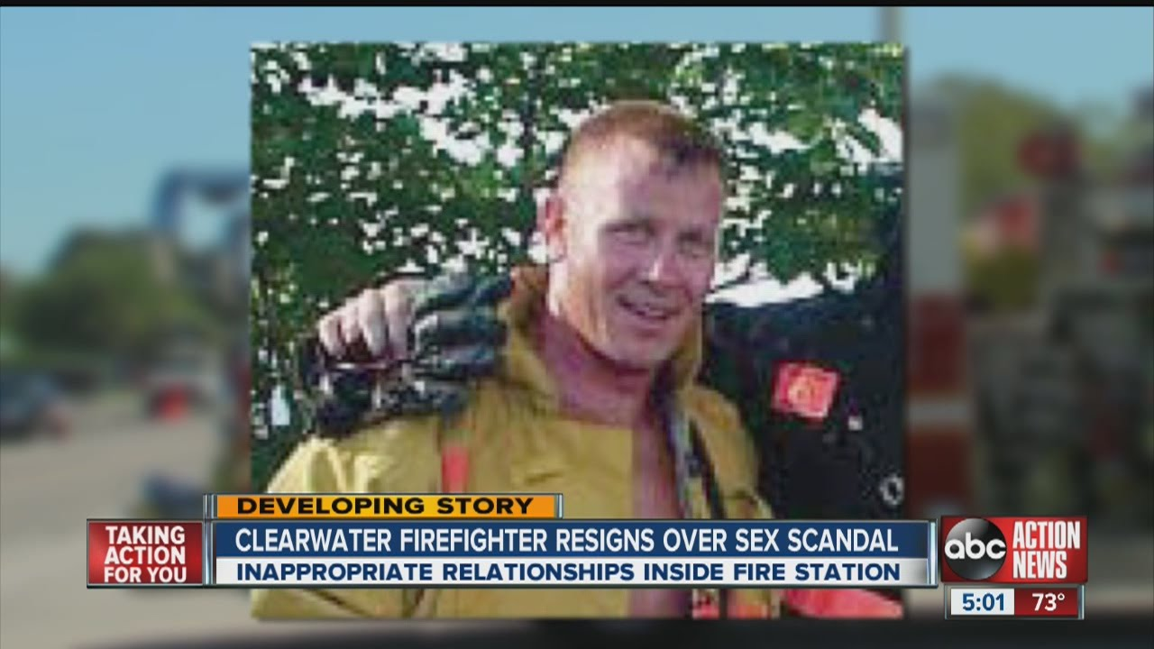 Firefighter sex video