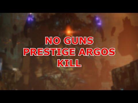 WORLDS FIRST ONE PHASE NO GUNS ARGOS PRESTIGE KILL | #DieBusfahrer #MOTW