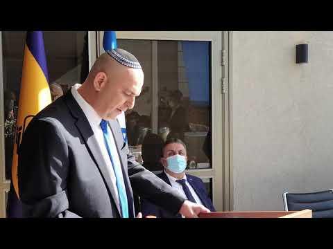 נאום ראש העיר יאיר רביבו בטקס כניסת הרב הראשי ללוד, הרב שמעון מאיר ביטון שליט