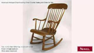 American Antique Chair/rocking Chair Country Seating And