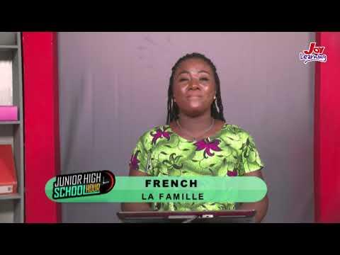 French - La Famille - (29 -05-2020)