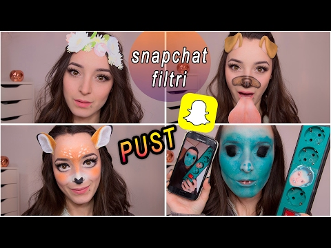 4 Snapchat Filtri - Pustne Maske 2017
