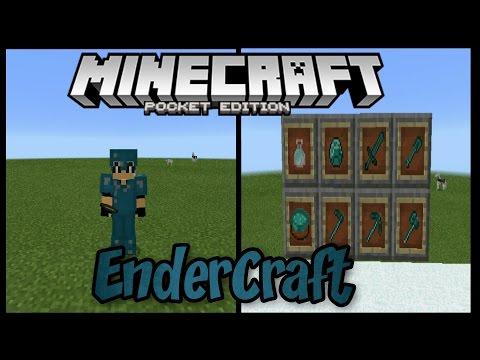 EnderCraft Mod для Minecraft PE 1.0.0(Новые вещи и блоки!)