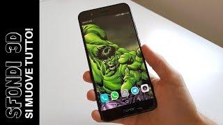FIGATA! Sfondo 3D sullo smartphone   Si muove tutto!