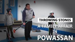 Throwing Stones: A Family Affair in Powassan