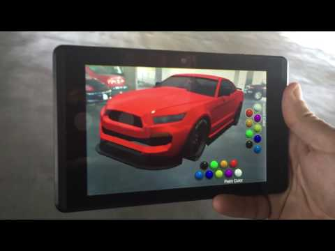 Extended Reality Car Show - Google Project Tango