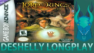 (L:22) The Lord of the Rings - The Fellowship of the Ring GBA Longplay