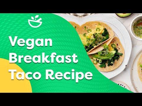 Vegan Breakfast Taco Recipe