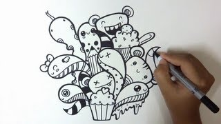 How I Doodle - Just A Doodle(First time watching my video? ❖ Visit my channel: Pic Candle - http://bit.ly/PicCandle ❖ Subscribe for more Doodles: http://bit.ly/PicCandleSubscribe ., 2013-10-07T18:11:25.000Z)