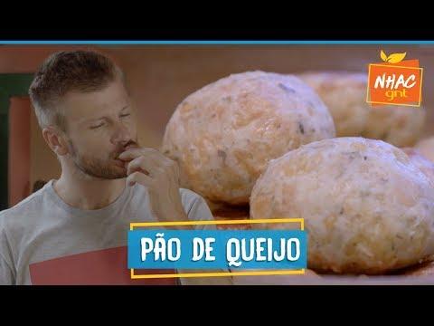 Pão de queijo caseiro: como fazer petisco aromatizado  Rodrigo Hilbert  Tempero de Família