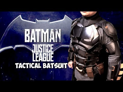 Batman Justice League tactical armor batsuit arm and Leg day