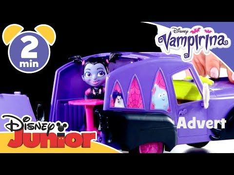 Disney Junior Unboxing  Vampirina and Hauntley's Mobile  Vampirina  Disney Junior UK