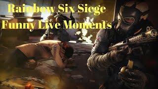 Rainbow Six Siege Funny Live Moments: Economia Puerto Rico