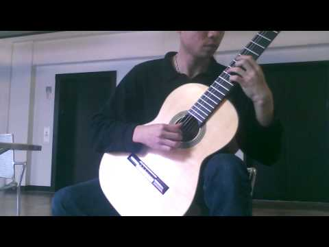 Arabesque no1 Claude Debussy  solo guitar