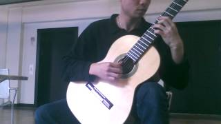 Arabesque no.1- Claude Debussy - solo guitar