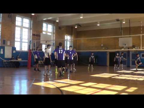 Hunter High School Volleyball: vs Stuyvesant Game 1
