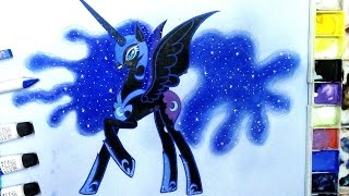 how to draw Nightmare Moon/Luna from MLP Friendship is Magic
