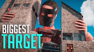 Becoming the BIGGEST TARGET on the SERVER! - Rust Survival
