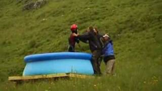 Water Slide Jump - AMAZING OR STUPID? - JACKASS EAT YOUR HEART OUT!!!!