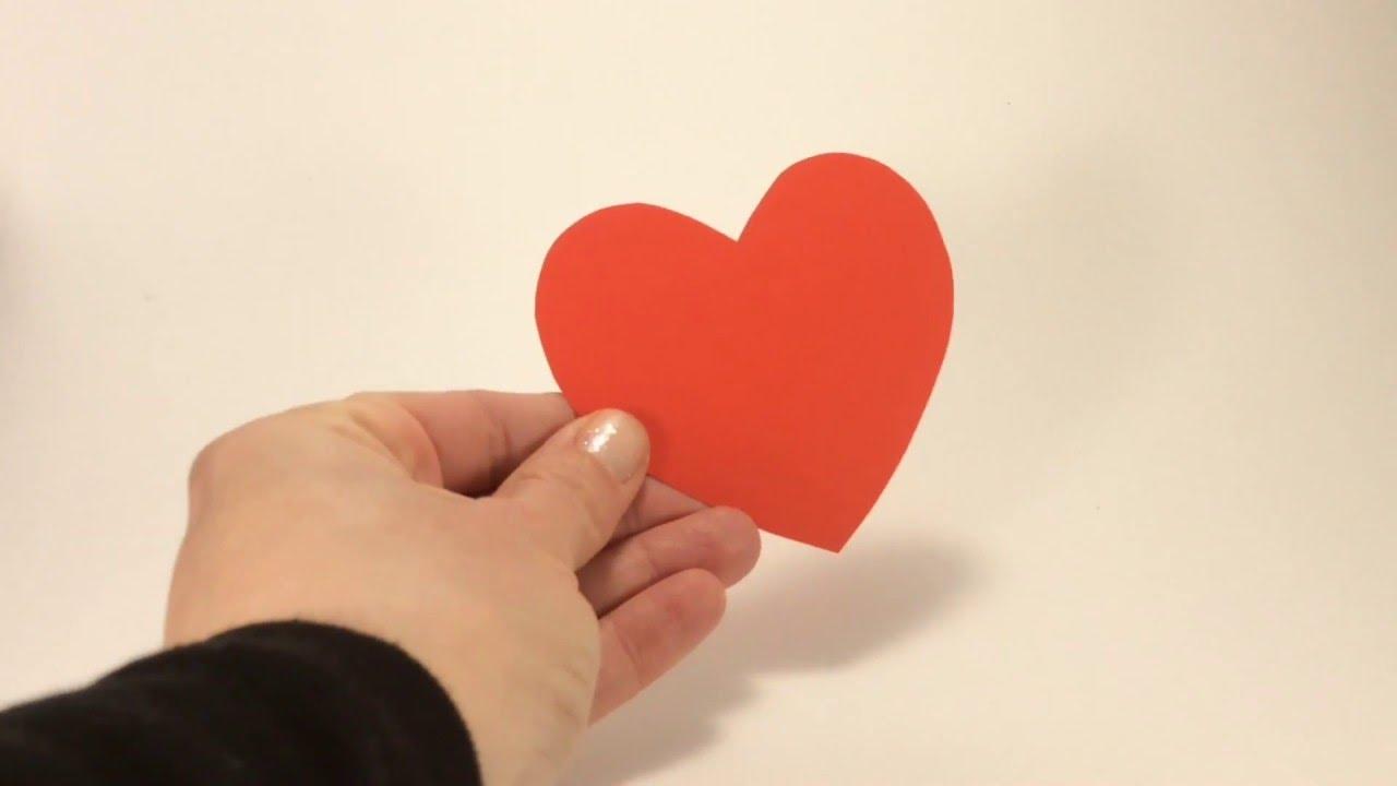 San valentino fai da te come fare cuori di carta in 1 for Idee san valentino fai da te