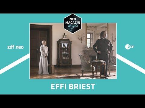 Letzte Stunde vor den Ferien: Effi Briest | NEO MAGAZIN ROYALE mit Jan Böhmermann - ZDFneo