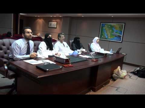 Dr. Fowzan Sami Alkuraya - Fetal Therapy Program - live meeting with 28 MOH Hospitals