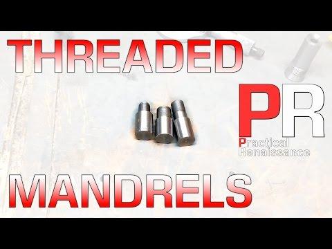 Machining Threaded Mandrels on the Mini Lathe