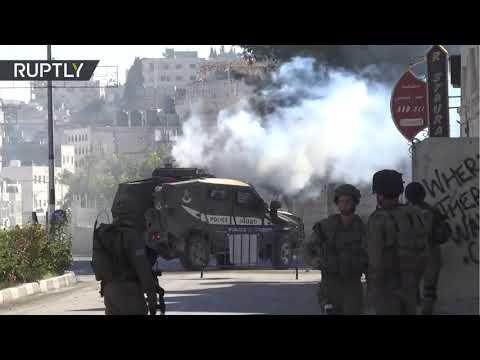 Soldados israelíes lanzan gas en Belén durante disturbios por anuncio de Trump sobre Jerusalén