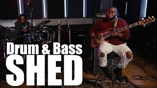 "Drum & Bass Shed  (4K) - Kenneth ""Kaybass"" Diggs and Fred Boswell Jr. on BASS SESSIONZ VOL. 3"