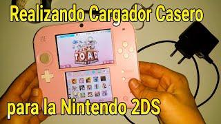 Cargador Casero para Nintendo 2DS , tutorial fácil - almadgata