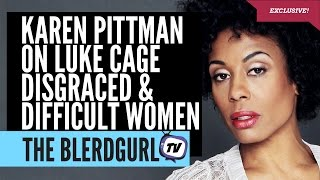 Luke Cage Actress Karen Pittman Interviewed by theblerdgurl
