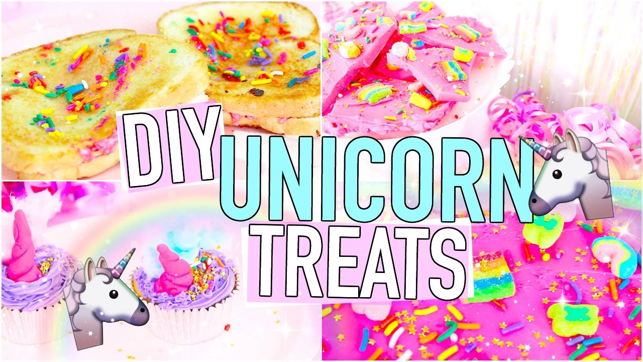 Diy How To Make A Unicorn Cake For Kids Party
