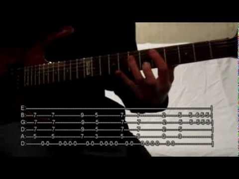 Ratt - You're in Love (Tab + Guitar Lesson)