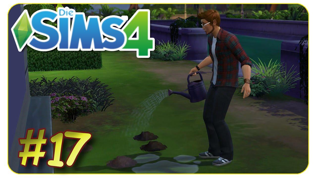 Gartnern Fur Anfanger 17 Die Sims 4 Gameplay Let S Play Youtube