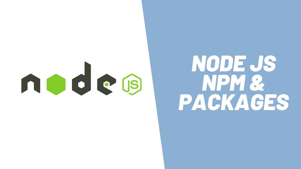 How to Use NPM for Node JS Modules