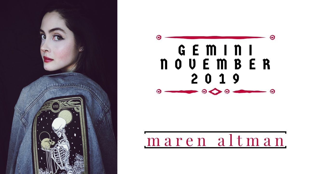 gemini weekly horoscope 19 november 2019