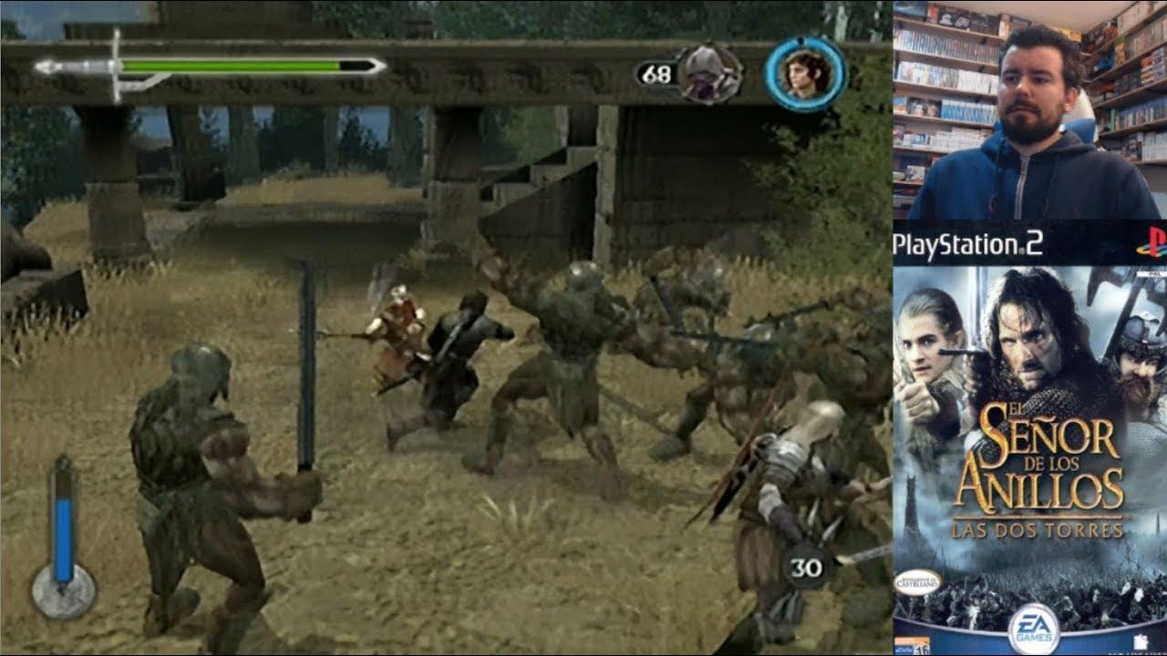 El Señor De Los Anillos Las Dos Torres Ps2 Gameplay Esdla En Español Evento Tolkien Youtube