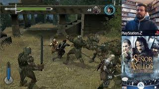 EL SEÑOR DE LOS ANILLOS: LAS DOS TORRES (PS2) - Gameplay ESDLA en Español || Evento Tolkien