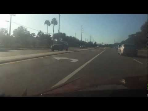 Driving Through Altamonte Springs (near Orlando)