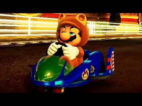 mario kart 8 deluxe 150cc leaf cup grand prix tanooki mario gameplay youtube. Black Bedroom Furniture Sets. Home Design Ideas