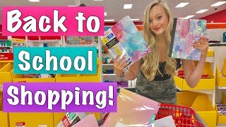 Back To School Supplies Shopping Spree at Target and Clothing HAUL 2019