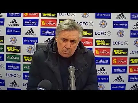 Leicester 0-2 Everton - Carlo Ancelotti - Post-Match Press Conference