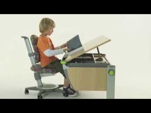 Moll Runner Ergonomic Study Table For Children
