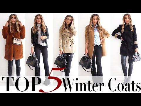 TOP 5 AUTUMN/WINTER COATS | Lydia Elise Millen