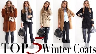 TOP 5 AUTUMN/WINTER COATS | Lydia Elise Millen thumbnail
